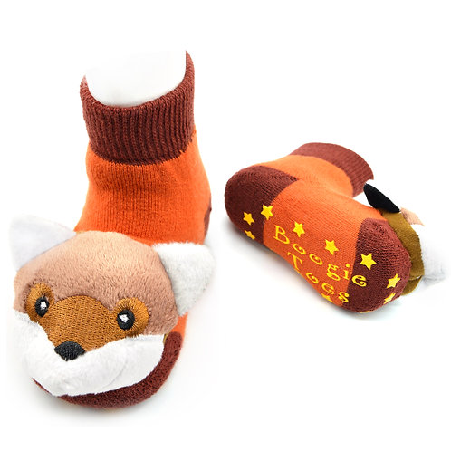 Fox Boogie Toes Rattle Socks