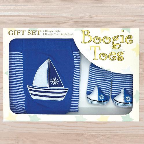 Sailboat Tight Rattle Gift Box 6-12M - Wholesale