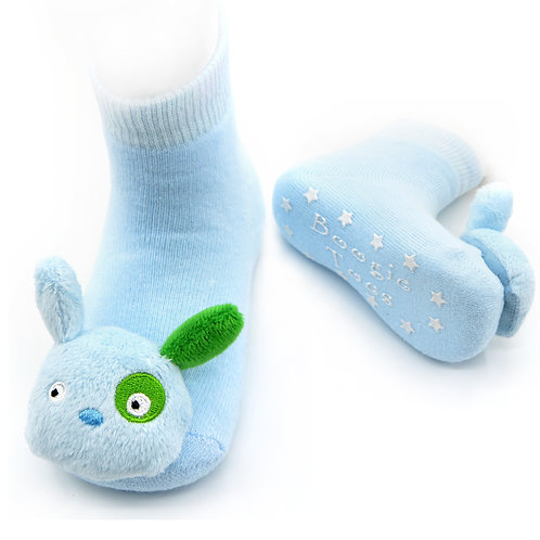 Blue Puppy Boogie Toes Rattle Socks - Wholesale