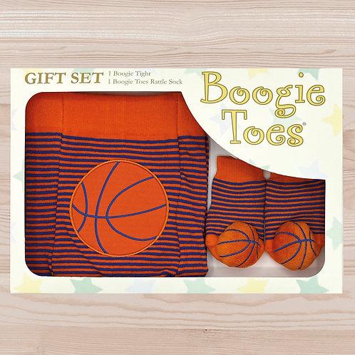 Basketball Tight Rattle Gift Box 6-12M - Wholesale