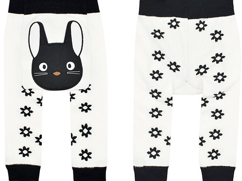 Black Cat Boogie Tights Baby Diaper Pants