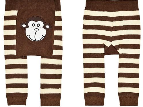 Monkey Boy Boogie Tights Baby Diaper Pants