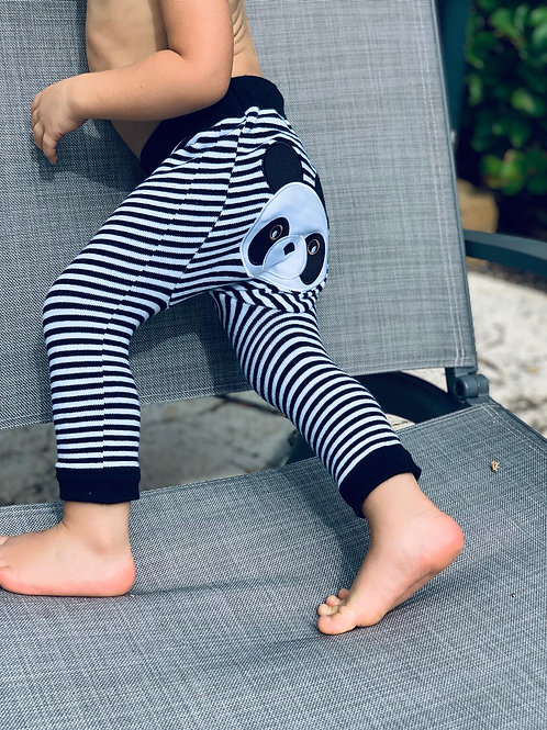 Panda Boogie Tights Baby Leggings