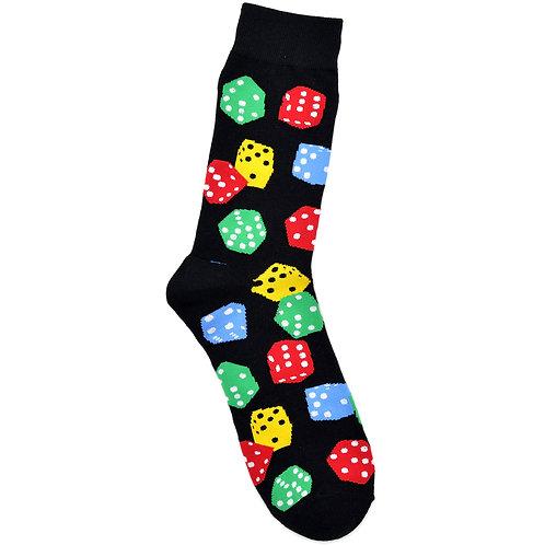 Dice - Adult Sock - Size L