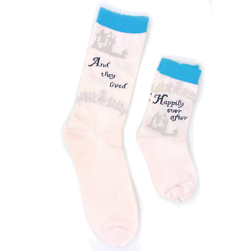 Mommy and Me Socks, And They Lived Happily Ever After