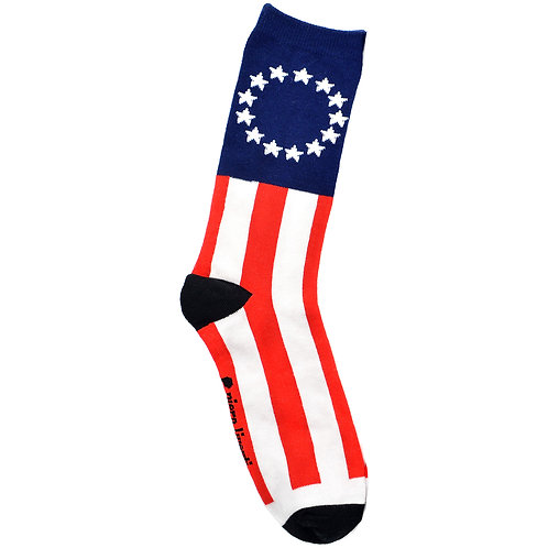 USA Betsy - Adult Sock - Size M