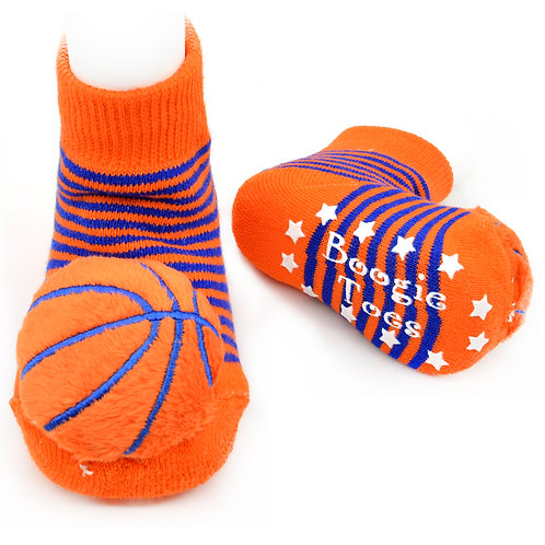 Basketball Boogie Toes Rattle Socks - Wholesale