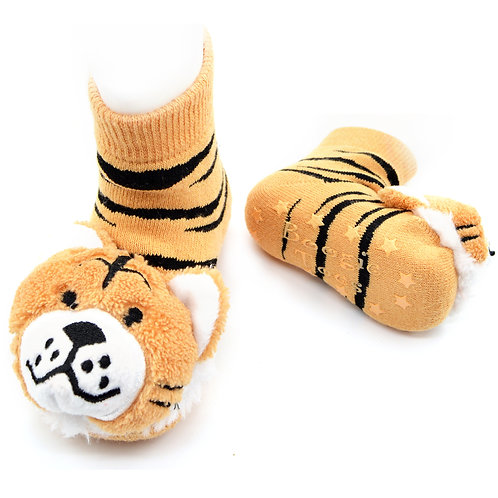 Tiger Boogie Toes Rattle Socks - Wholesale
