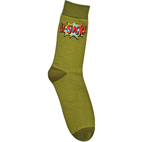 U-Suck - Adult Sock - Size L