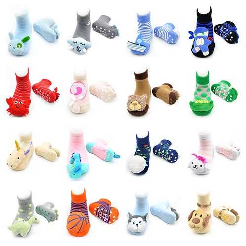 Boogie Toes Rattle Socks 60 pc Set
