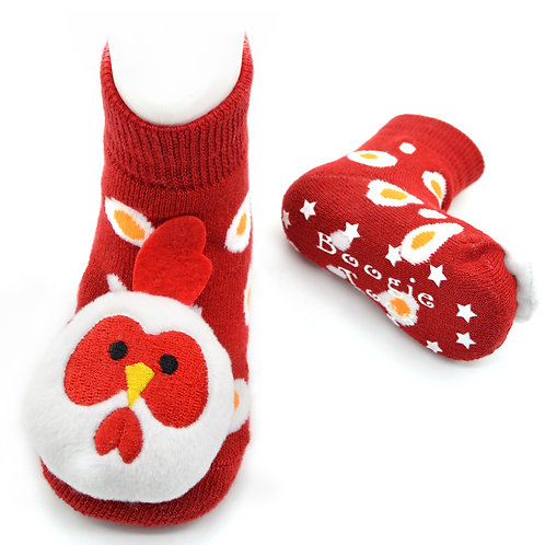 Chicken Boogie Toes Rattle Socks