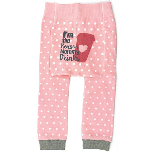 I'm The Reason Mommy Drinks Coffee - Baby Tights baby Leggings