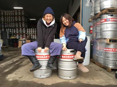 オレゴンで学んだ秋田の女性サイダーメーカー