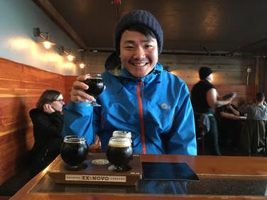 アメリカのビール専門学校の日本人卒業生