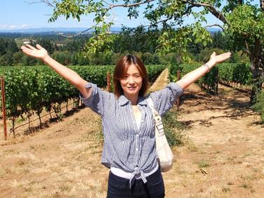 オレゴンワインツアーのニューフェイス:矢島ふみこさん