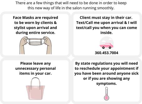 NEW! Covid-19 Regulations & Requirements