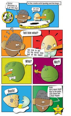 5 of the Day - Comic Strip