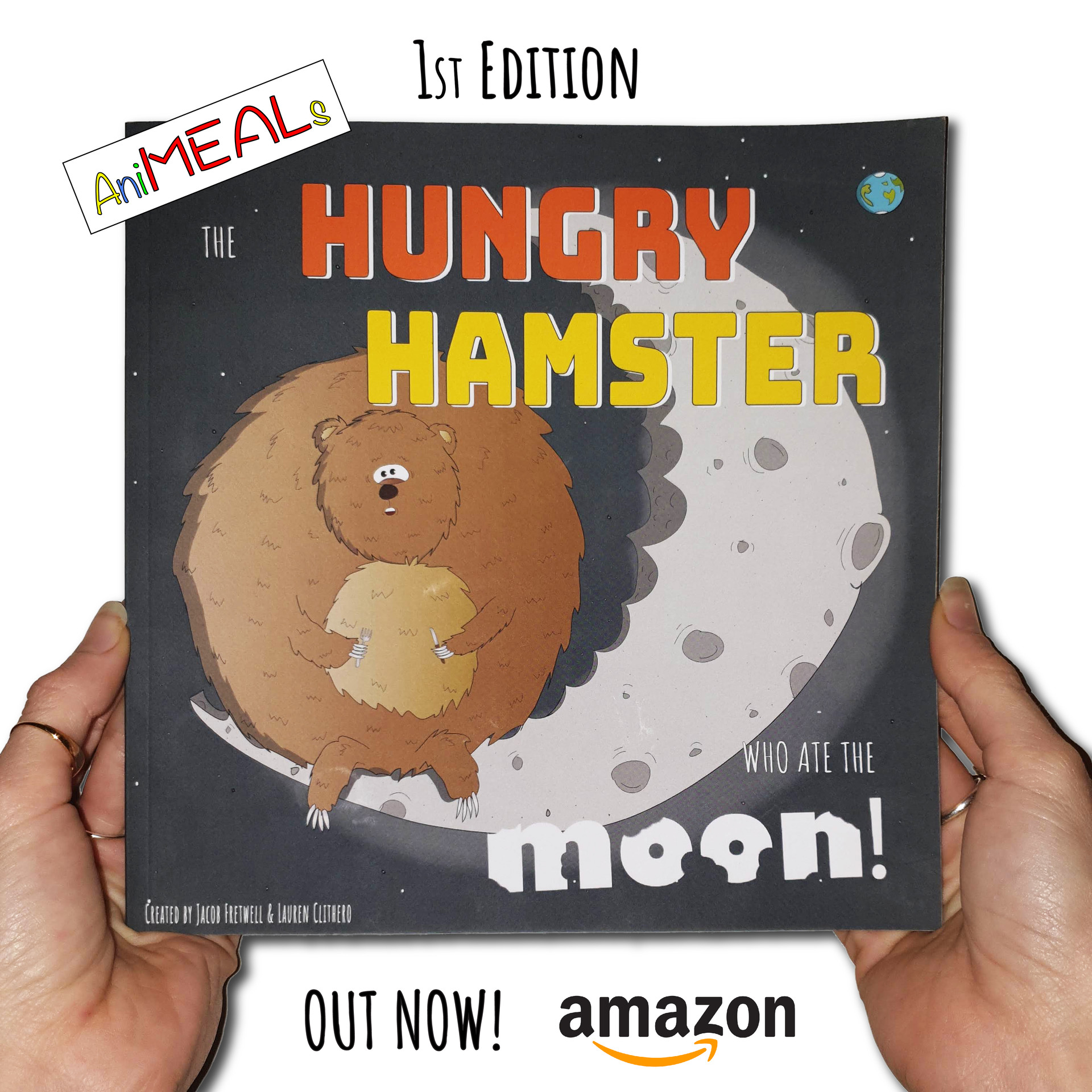 The Hungry Hamster who ate the Moon!
