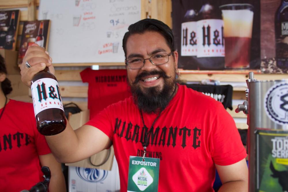 Nigromante a Oaxaca Micro Brewey