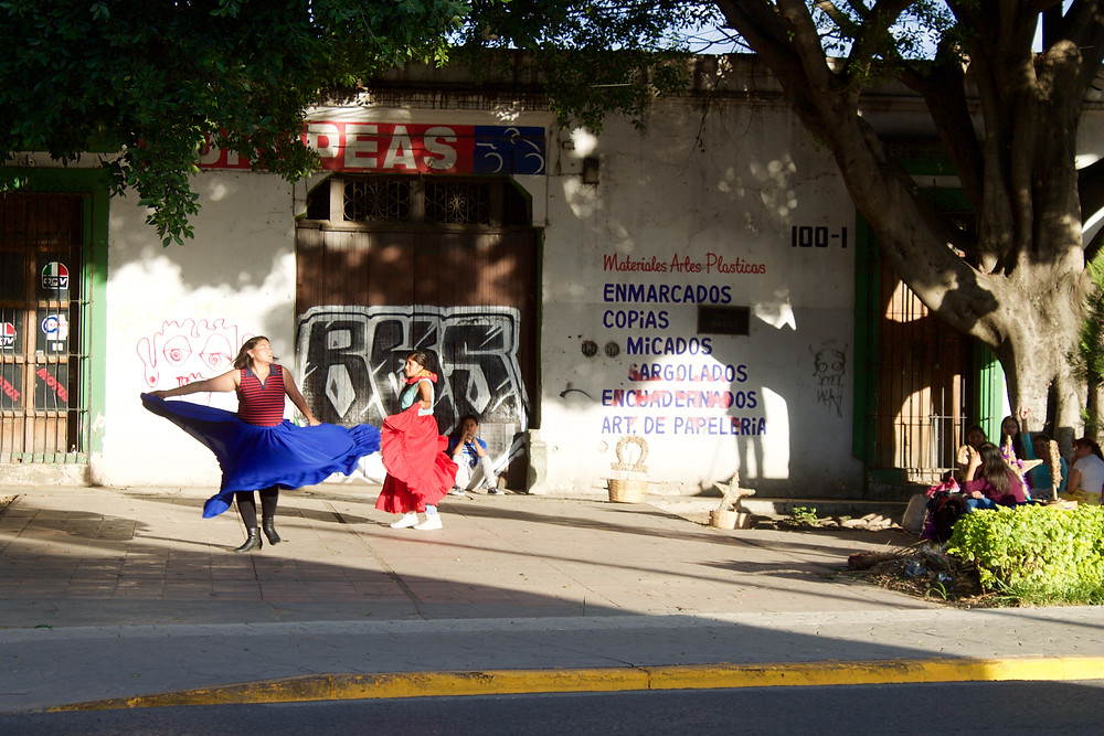 Dancing in the sunlight, Oaxaca City