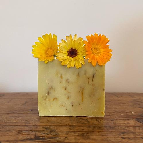 Olive Oil Calendula Soap