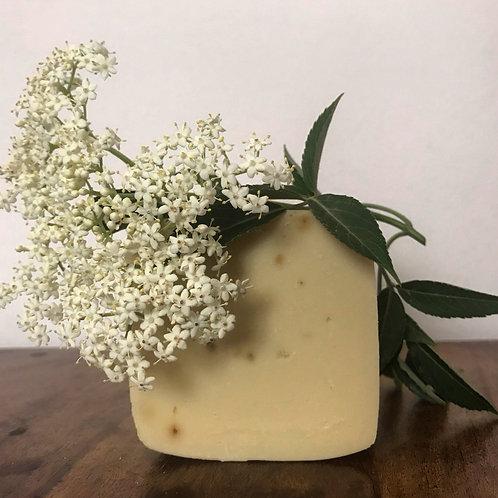 Olive Oil Elderflower Soap