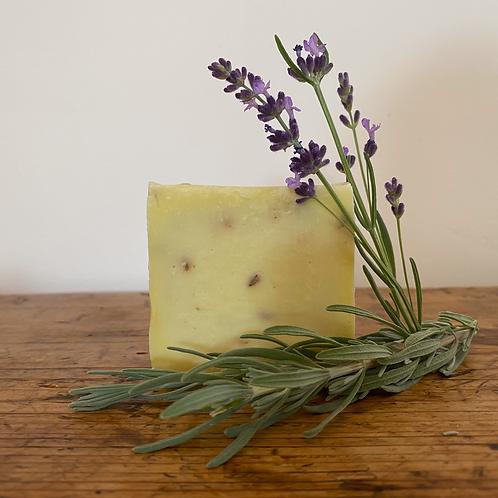 Olive Oil Lavender Soap