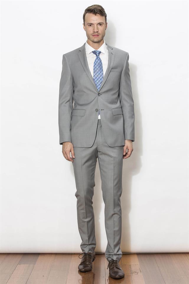 Rooney Suit - Jet Silver