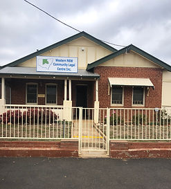 Home Base: The office of Western NSW Community Legal Centre at 51 Bultje Street, Dubbo.