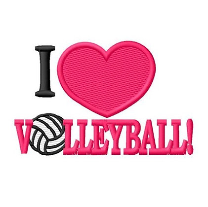 I Love Volleyball!