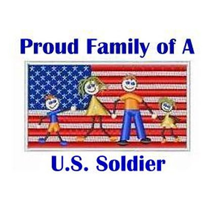 US Soldier Family