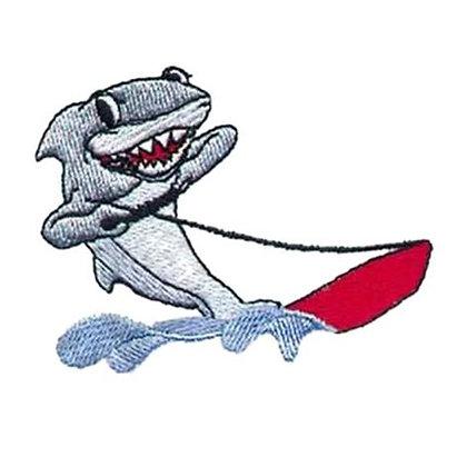 Waterskiing Shark