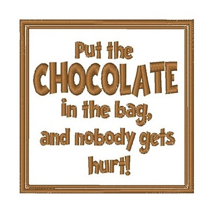 Chocolate in Bag