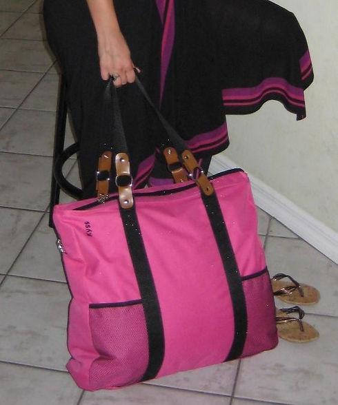 Large Raspberry Pink Kyss Bag.jpg