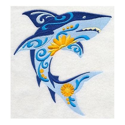 Flower Power Shark