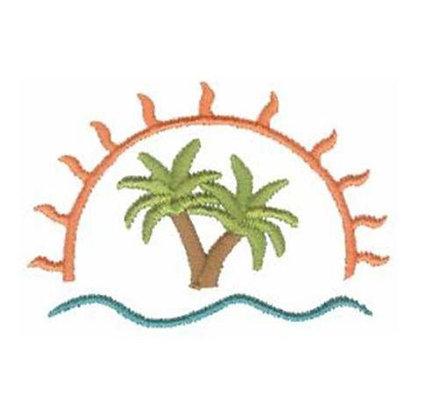 Sun & Palm Trees
