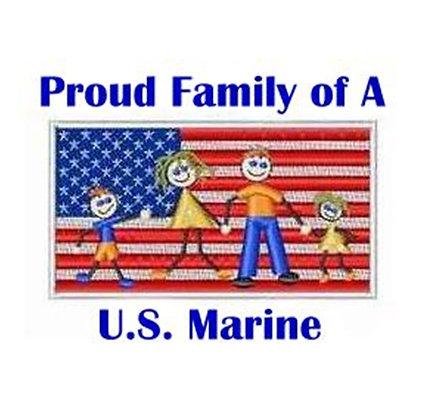 US Marine Family
