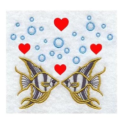 Angelfish with Hearts