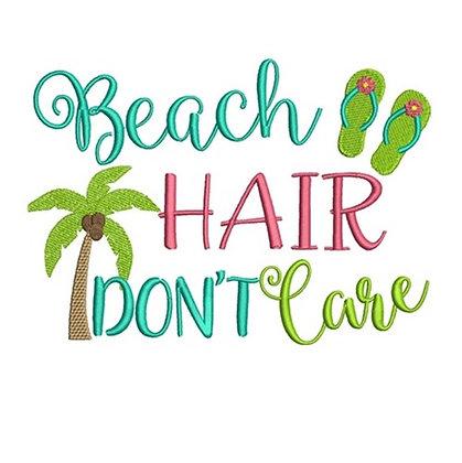 Beach Hair Don't Care