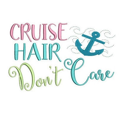 Cruise Hair Don't Care