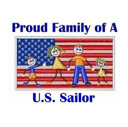 US Sailor Family