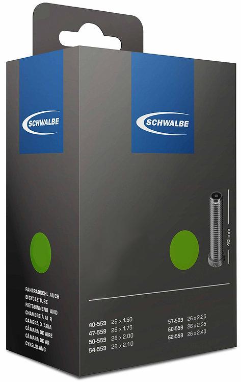 Schwalbe AV12  26 x 1 3/8'' - 27.5 x 1.35/1.75 Schrader - 40mm