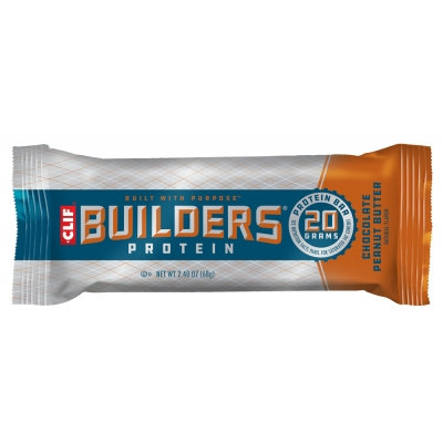 Clif Builders Chocolate Peanut Butter Single Bar
