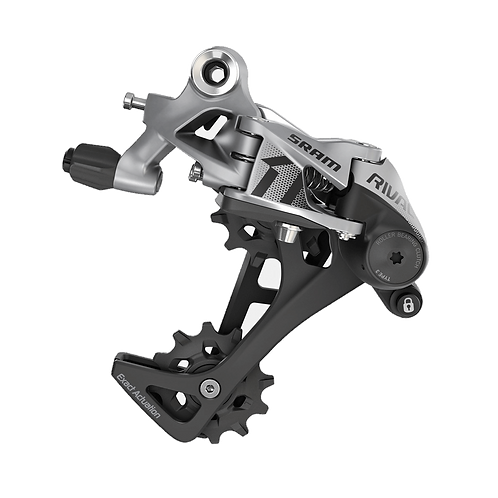 SRAM RIVAL1 REAR DERAILLEUR LONG CAGE 11-SPEED (FOR 10-42) T3