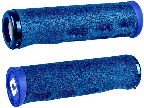 ODI Dread Lock MTB Grips 130mm Blue