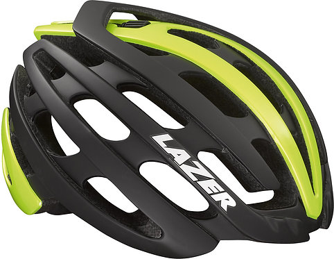 Lazer Z1 Helmet Black/Flash Yellow Medium