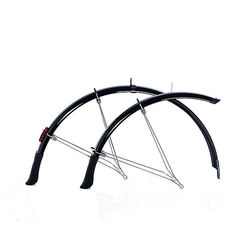 Flinger F35 Deluxe 700 x 35mm Mudguards Black