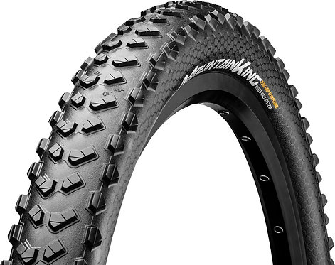 "Continental Mountain King III 27.5 x 2.3"" PureGrip ShieldWall Black Folding Tyre"