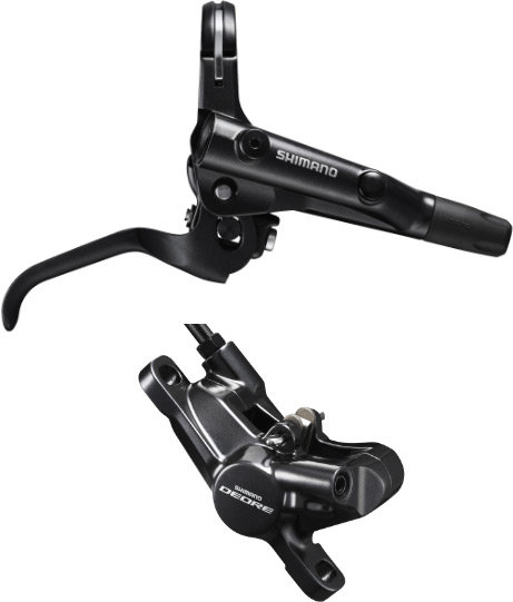 Shimano Deore M6000 Bled I-Spec II Brake Lever Post Mount Calliper Front