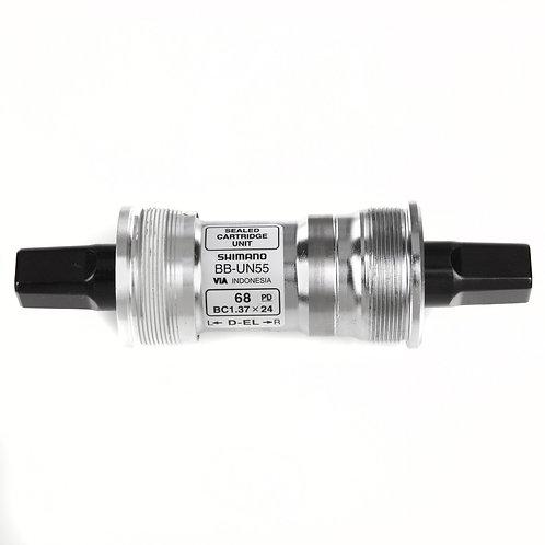 Shimano BB-UN55 bottom bracket British thread 68 - 127 mm